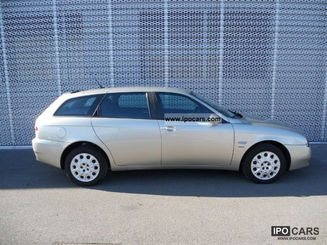 2004 alfa romeo 156 1 9 jtd sw progression car photo and specs. Black Bedroom Furniture Sets. Home Design Ideas