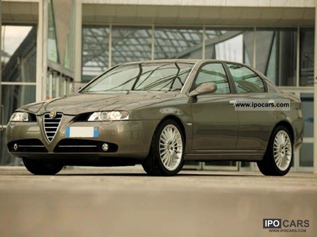 2006 Alfa Romeo  166 2.4 JTD M-JET 20V (185) cat. Limousine Used vehicle photo