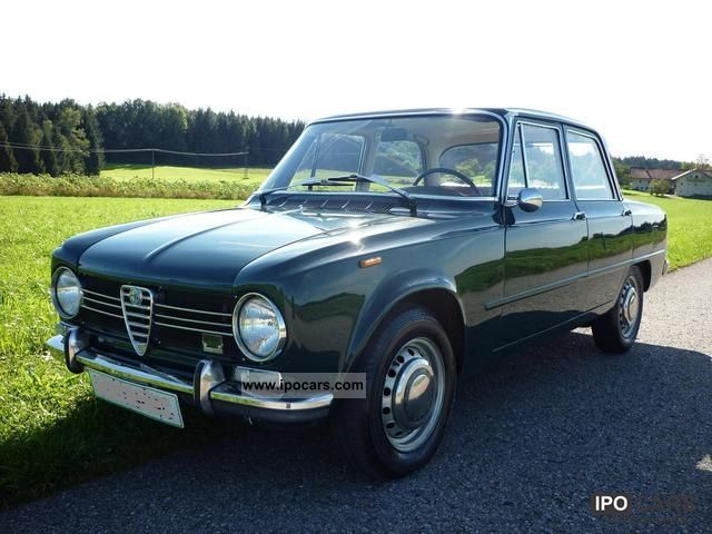 Alfa Romeo  Giulia 1300 TI 1967 Vintage, Classic and Old Cars photo