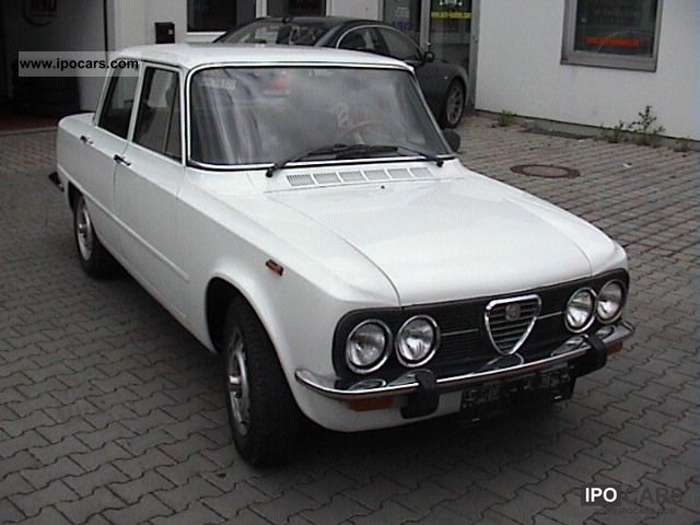 Alfa Romeo  Giulia 1300 * Very well maintained with H-approval! * 1976 Vintage, Classic and Old Cars photo