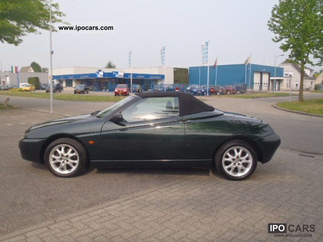 2003 Alfa Romeo  Alfa Spider 2.0 JTS ** AIR ** 93 000 ** KM Cabrio / roadster Used vehicle photo