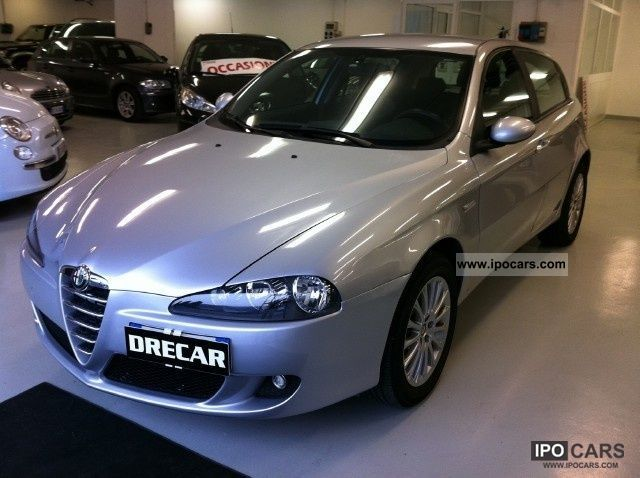 Alfa Romeo  147 1.6 16V TS (105) 5 porte IMPIANTO GPL 2006 Liquefied Petroleum Gas Cars (LPG, GPL, propane) photo