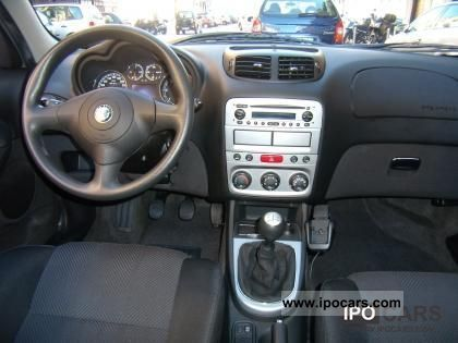 2008 alfa romeo 147 1 9 jtd m jet 120 cv perfetta car photo and specs. Black Bedroom Furniture Sets. Home Design Ideas