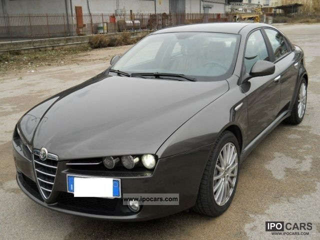 2005 alfa romeo 159 2 4 20v exclusive jtdm pelle navigatore car photo and specs. Black Bedroom Furniture Sets. Home Design Ideas