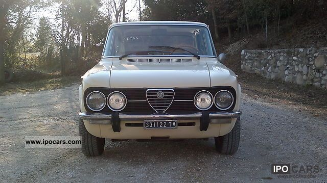 1975 Alfa Romeo  Giulia Limousine Classic Vehicle photo