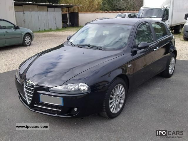2007 alfa romeo 147 1 9 jtd 16v m jet distinctive 150cv car photo and specs. Black Bedroom Furniture Sets. Home Design Ideas