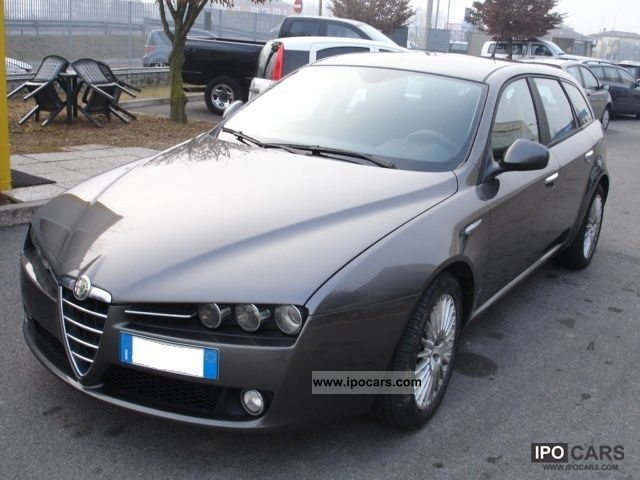 2007 alfa romeo 159 1 9 16v sw jtdm car photo and specs. Black Bedroom Furniture Sets. Home Design Ideas