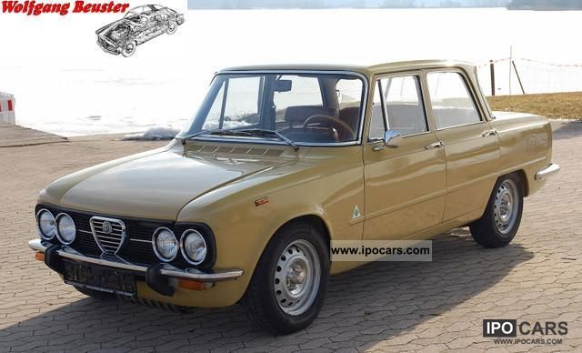 Alfa Romeo  Giulia 1300 Super Nuova 1976 Vintage, Classic and Old Cars photo