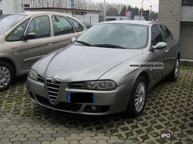 2005 alfa romeo 156 1 9 jtd exclusive car photo and specs. Black Bedroom Furniture Sets. Home Design Ideas