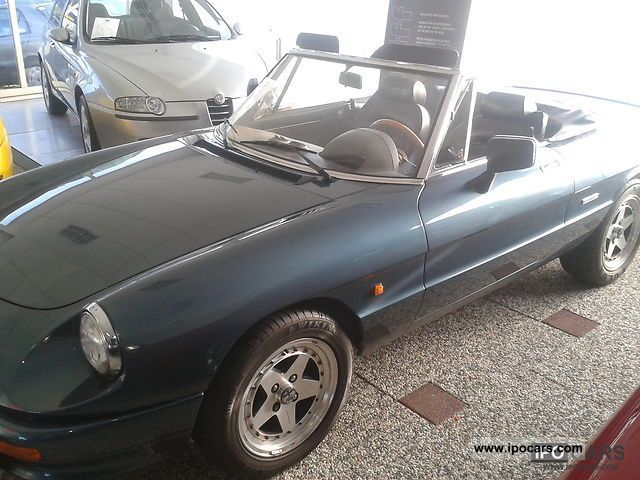 1990 Alfa Romeo  Spider 1.6 Cabrio / roadster Used vehicle photo