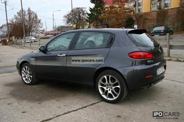 2007 alfa romeo alfa 147 ti 1 9 16v 150hp jtdm limited bose car photo and specs. Black Bedroom Furniture Sets. Home Design Ideas
