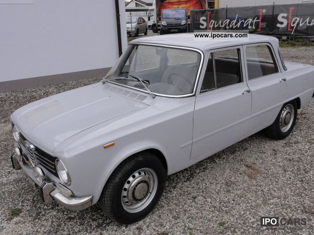 1970 alfa romeo giulia 1300 ti car photo and specs. Black Bedroom Furniture Sets. Home Design Ideas