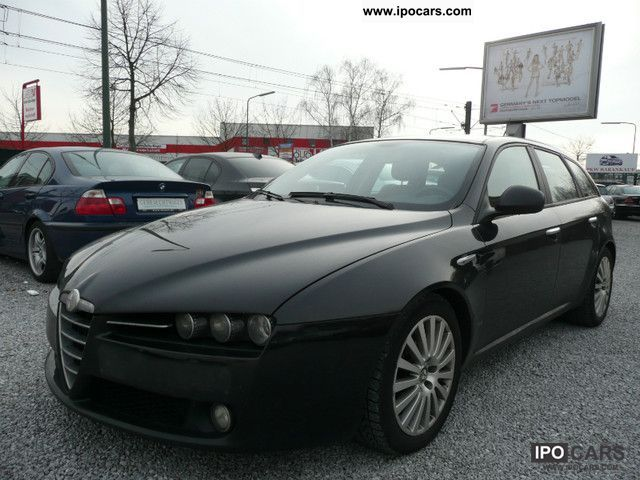 2007 alfa romeo alfa 159 sportwagon 1 9 jtdm 16v dpf distinctive car photo and specs. Black Bedroom Furniture Sets. Home Design Ideas