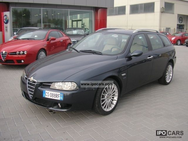 2004 alfa romeo 156 2 4 jtd 20v sw distinctive car photo and specs. Black Bedroom Furniture Sets. Home Design Ideas