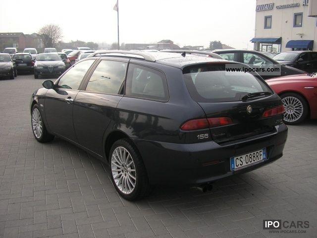 2004 alfa romeo 156 2 4 jtd 20v sw distinctive car photo and specs. Black Bedroom Furniture Sets. Home Design Ideas