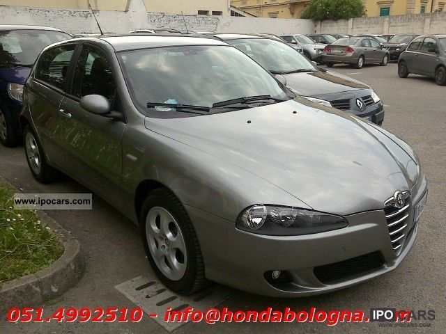 2006 alfa romeo 147 1 9 jtdm 5p progression car photo and specs. Black Bedroom Furniture Sets. Home Design Ideas