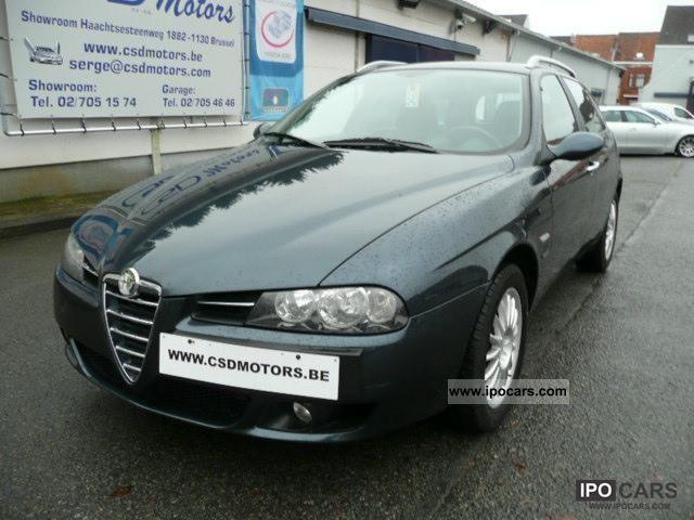 2005 Alfa Romeo  156 JTD 115 pk WAGON LEATHER CLIMATE erkend verkoper Limousine Used vehicle photo