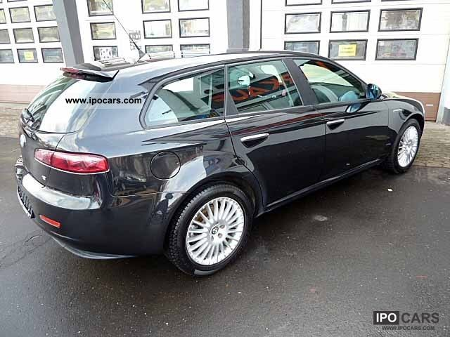 2007 alfa romeo 159 sportwagon 1 9 jtdm 16v air 17 inch top car photo and specs. Black Bedroom Furniture Sets. Home Design Ideas
