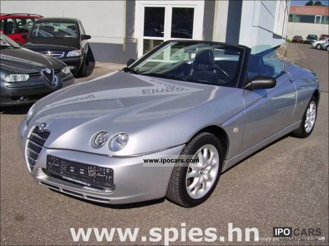 2004 alfa romeo spider 2.0 jts medio leather - car photo and specs