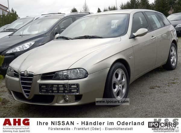 2004 alfa romeo 156 sw 2 4 jtd car photo and specs. Black Bedroom Furniture Sets. Home Design Ideas