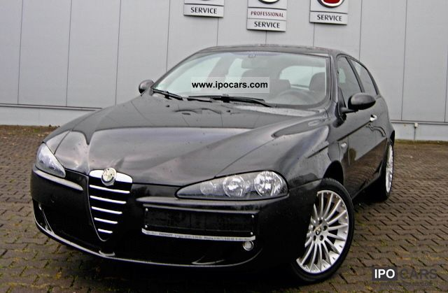2006 alfa romeo 147 1 6 twin spark sportiva car photo and specs. Black Bedroom Furniture Sets. Home Design Ideas