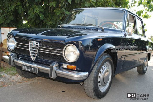 Alfa Romeo  Giulia 1970 Vintage, Classic and Old Cars photo
