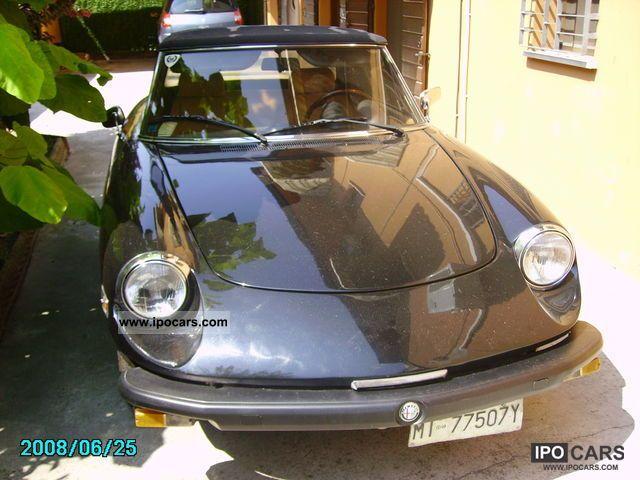 1981 Alfa Romeo  Spider Modello America iscritta ASI Cabrio / roadster Used vehicle photo