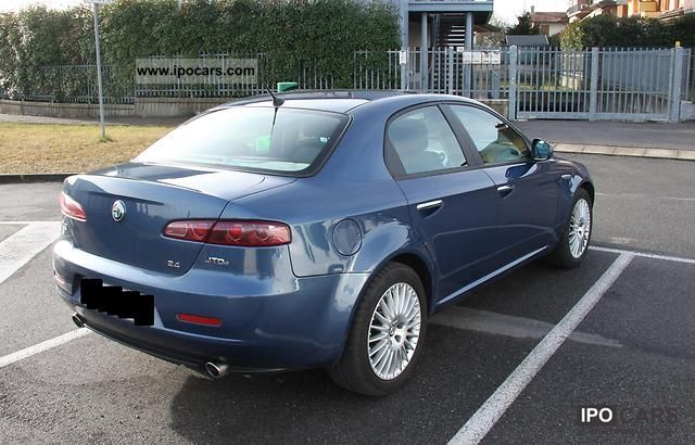 2006 alfa romeo 159 2 4 jtdm 20v dpf car photo and specs. Black Bedroom Furniture Sets. Home Design Ideas