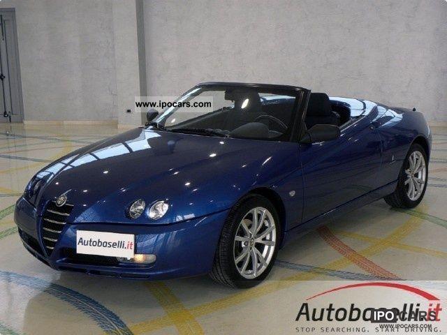 2005 Alfa Romeo  Spider 2.0 JTS 165cv 2004 UNICO series Sp propri Cabrio / roadster Used vehicle photo