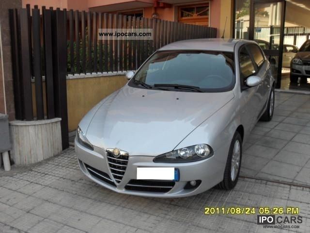 2008 Alfa Romeo  147 1900 m 120 Jtd C.V. Distinctive Limousine Used vehicle photo