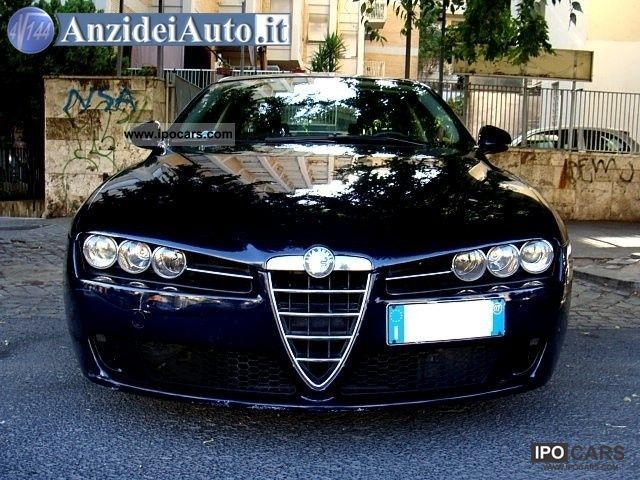 2007 alfa romeo jtdm 159 1 9 16v 150 cv fap 4p car photo. Black Bedroom Furniture Sets. Home Design Ideas