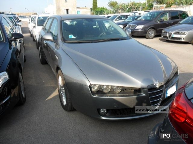 2007 alfa romeo 159 2 4 20v sw jtdm exclusive q tronic car photo and specs. Black Bedroom Furniture Sets. Home Design Ideas