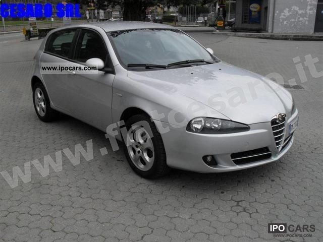 2007 alfa romeo 147 1 9 jtdm 120cv progression 5 porte car photo and specs. Black Bedroom Furniture Sets. Home Design Ideas