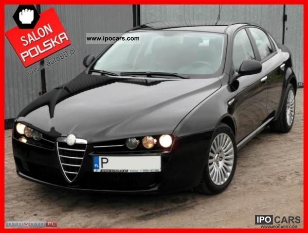 2007 Alfa Romeo  159 1.9 JTDM-SALON-POLSKA F.VAT Limousine Used vehicle photo