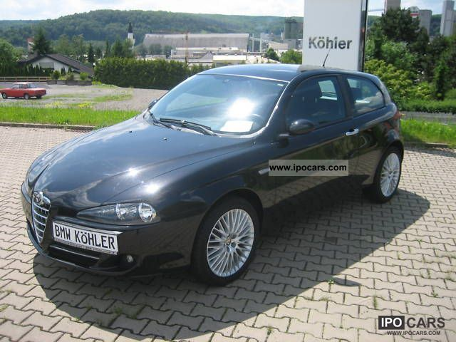 2008 alfa romeo alfa 147 1 6 twin spark eco impression. Black Bedroom Furniture Sets. Home Design Ideas