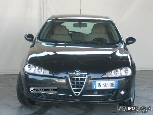 2006 alfa romeo 147 1 9 jtd distinctive car photo and specs. Black Bedroom Furniture Sets. Home Design Ideas