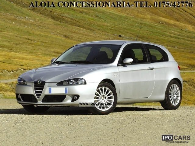 2008 alfa romeo 147 1 9 jtd 120 3 porte progression car photo and specs. Black Bedroom Furniture Sets. Home Design Ideas