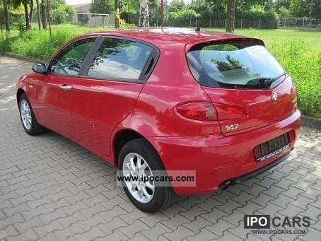 2006 alfa romeo 147 1 6 ts distinctive car photo and specs. Black Bedroom Furniture Sets. Home Design Ideas