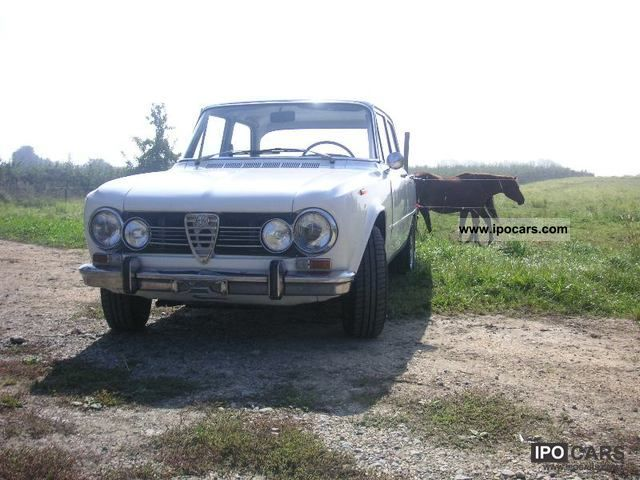 Alfa Romeo  Giulia 1.3 restored 1971 Vintage, Classic and Old Cars photo