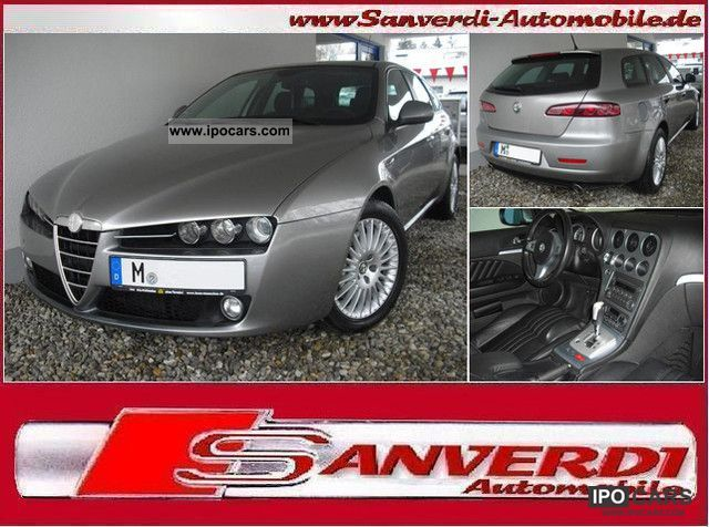 2006 Alfa Romeo  159 2.4 JTDM 200hp ** DPF ** = TIPTRONC = LEATHER PDC = EURO4 Estate Car Used vehicle photo