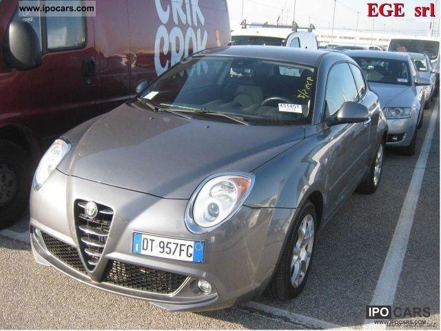2008 Alfa Romeo  MiTo 1.6 16V JTDm Dist. Premium Pack Limousine Used vehicle photo