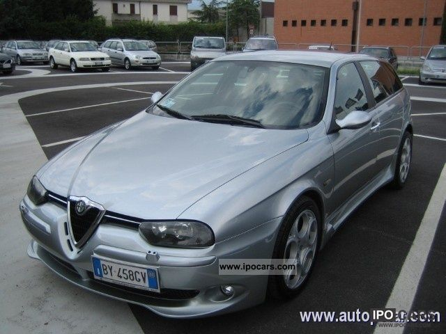 2002 alfa romeo v6 24v gta 156 sw car photo and specs. Black Bedroom Furniture Sets. Home Design Ideas