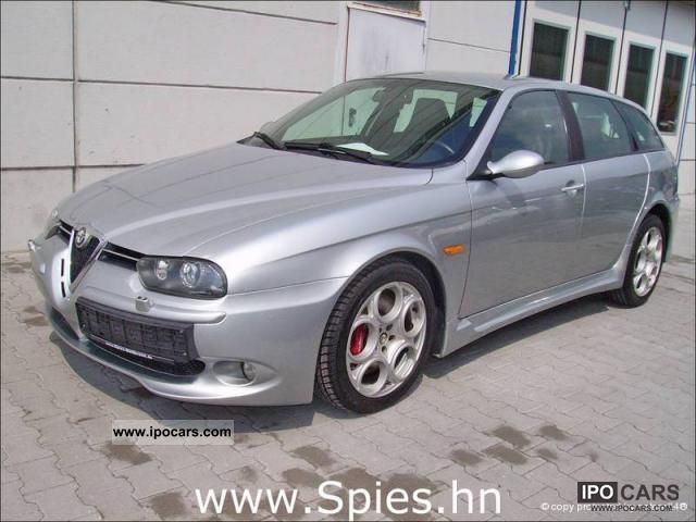 2004 alfa romeo 156 sw 3 2 gta selespeed lpg autogas car photo and specs. Black Bedroom Furniture Sets. Home Design Ideas