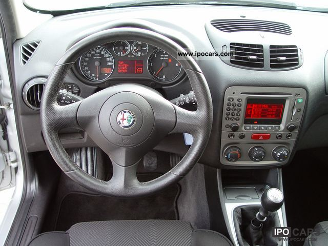 2006 Alfa Romeo 147 1 9 Jtd 110kw Navigross 6 Speed