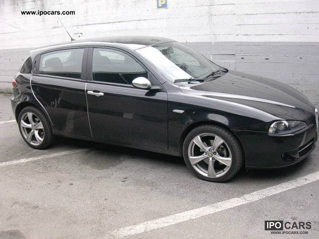 2007 alfa romeo 147 1 9 jtd m jet 150cv q2 5pt car photo and specs. Black Bedroom Furniture Sets. Home Design Ideas