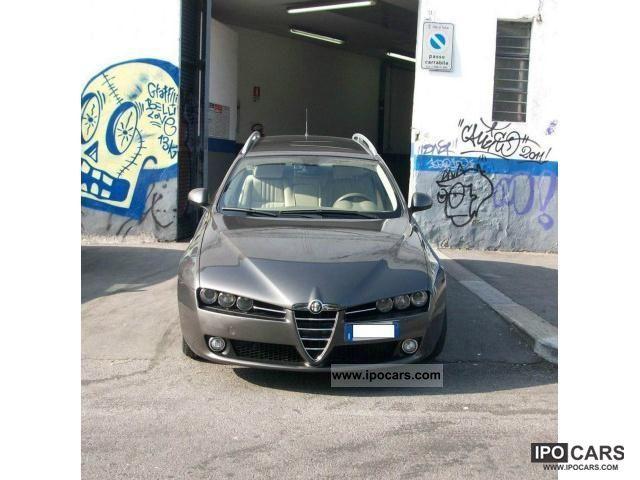 2008 Alfa Romeo  159 Sportwagon 1.9 JTDM 16V DPF Distinctive Estate Car Used vehicle photo