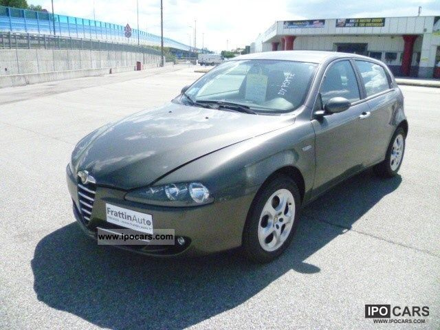 2009 alfa romeo 147 1 9 jtdm 120cv 5p progression car photo and specs. Black Bedroom Furniture Sets. Home Design Ideas