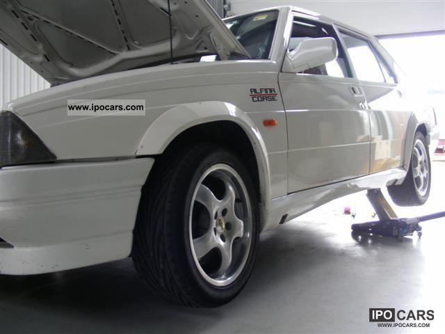 Alfa Romeo  Alfa 75 3.0 V6 (America) race car 1987 Race Cars photo