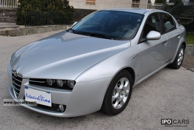 2009 alfa romeo 159 1 9 jtdm 150cv progression sedan car photo and specs. Black Bedroom Furniture Sets. Home Design Ideas