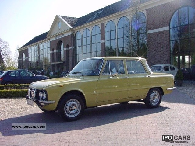 Alfa Romeo  Giulia 1300 Super 1976 Vintage, Classic and Old Cars photo